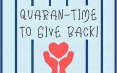Quaran-time to give back to the community!