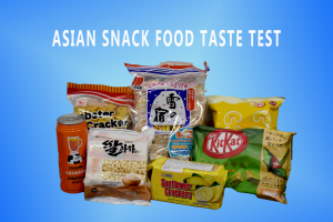 For this activity, I ranked seven snacks from four countries