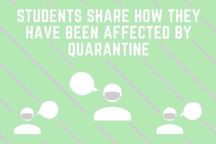 While the coronavirus has been a communal situation for the global population, each individual has experienced it differently. These are the stories of three students, regarding their quarantine situation.