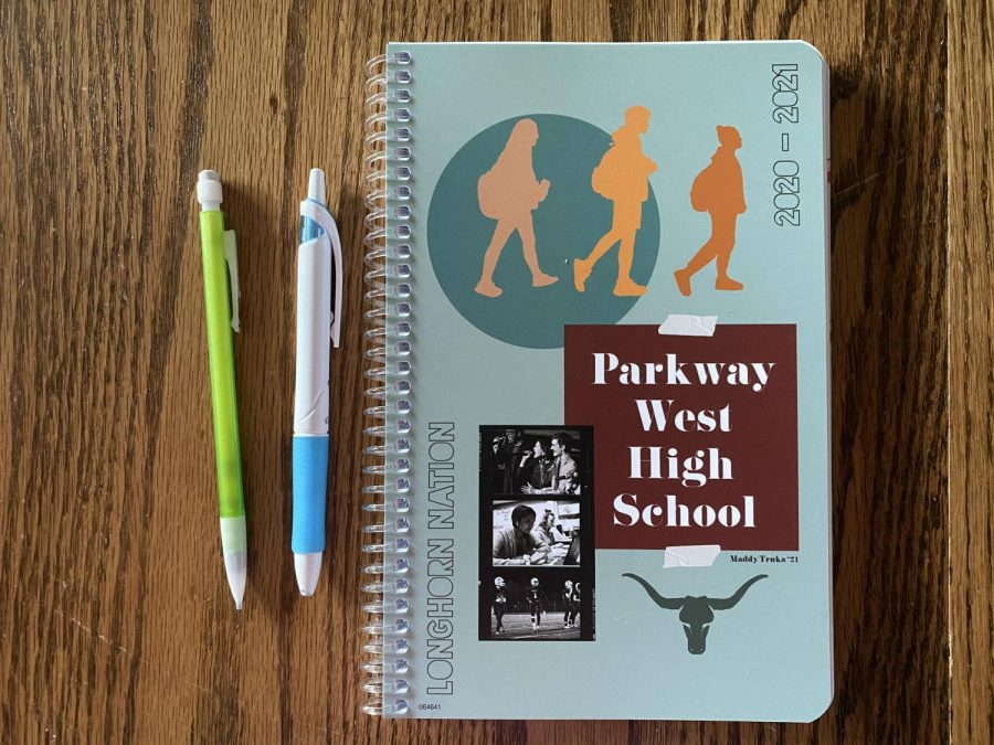 "After receiving feedback from her friends about what they wanted to see on the cover of the school planner, senior Maddy Truka combined her own ideas with friends' to create it. Truka was to hoping to represent diversity in her design. ""[Planners] help to just keep track of anything your teacher may assign that's not listed up on the board like usual,"" Truka said. ""Also, class set up may be more difficult and there is definitely more work to do so it's important that students are organized now more than ever."""