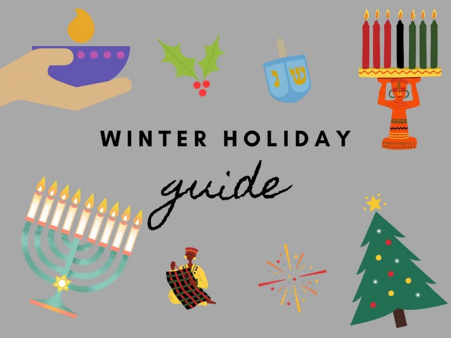 There are many diverse holidays celebrated throughout the winter season in the U.S.