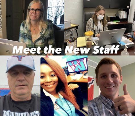 "New employees show their virtual work environments. At the beginning of the school year, some teachers taught from home while others taught from school, all while trying hard to build a connection with students. ""It"