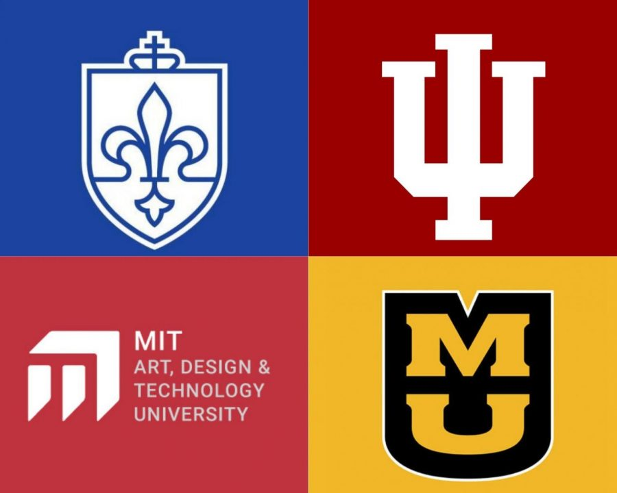 Seniors have a wide variety of colleges to pick from as they search for the school that is right for them.