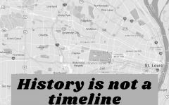 Viewing history in a linear way overlooks how past events continue to shape today's reality.