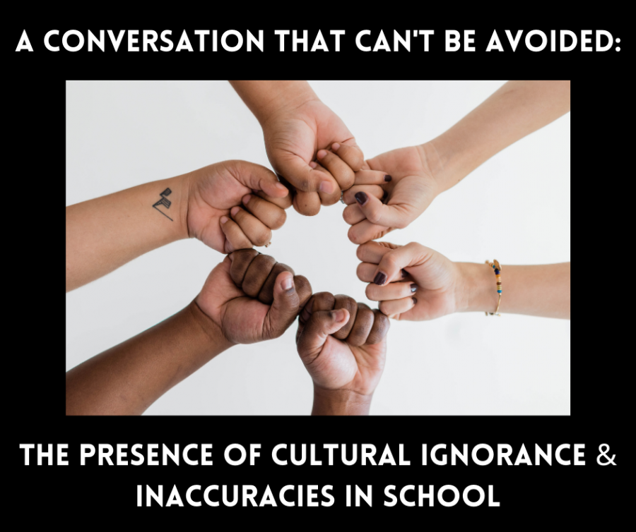 Cultural ignorance and inaccuracies in school leads to further community racism.
