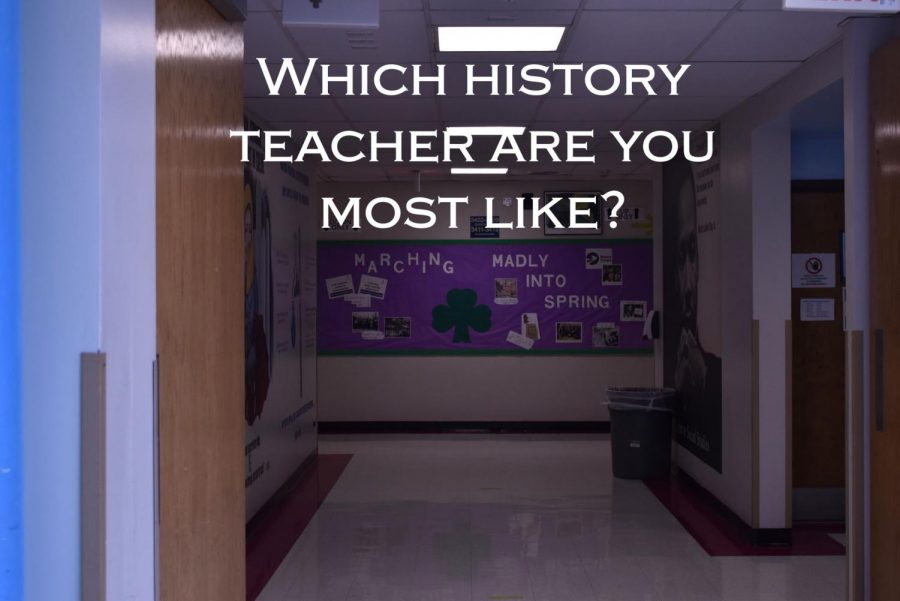 Take this test to find out which history teacher you are most like. Photo by Thomas Bruns.