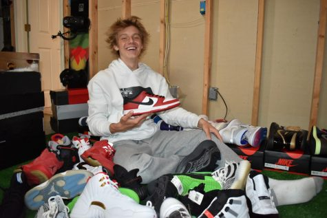 "Surrounded by mountains of shoes like Nike SB Dunk Chicago, Yeezy 350 Bred, Jordan 11 Concord and Jordan 4 Raptor, sophomore Nick Malchanav uses his basement to store his inventory. Through pulling off great deals with resellers, collectors and consumers, Malchanav has been able to attain the skill of negotiating. ""Whenever I negotiate with people, I just ask them the price they"