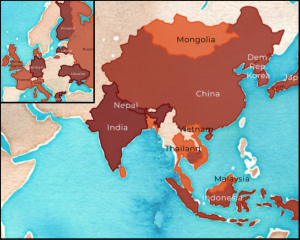 """The swastika is widely believed to have originated in India, commonly used in ceremonies and festivals. The word """"swastika"""" comes from the Sanskrit words """"su"""" and """"asti,"""" meaning """"good"""" and """"to exist."""" From here, the symbol spread to East and Southeast Asia and eventually Europe, taking on similar meanings in those countries until Nazi Germany."""