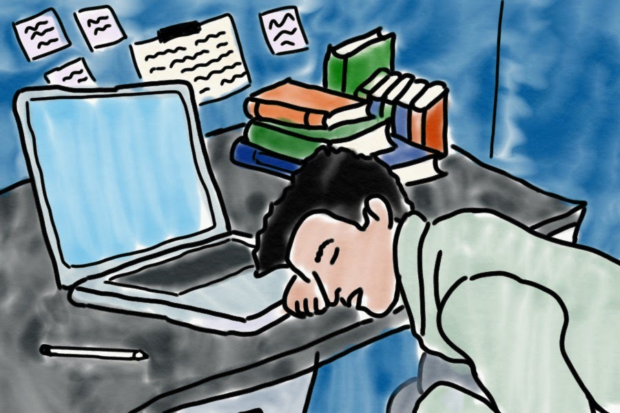 An inarguable side-effect of the quarter system: no one is sleeping when each of your four Advanced Placement (AP) or honors classes have at least two hours of homework.
