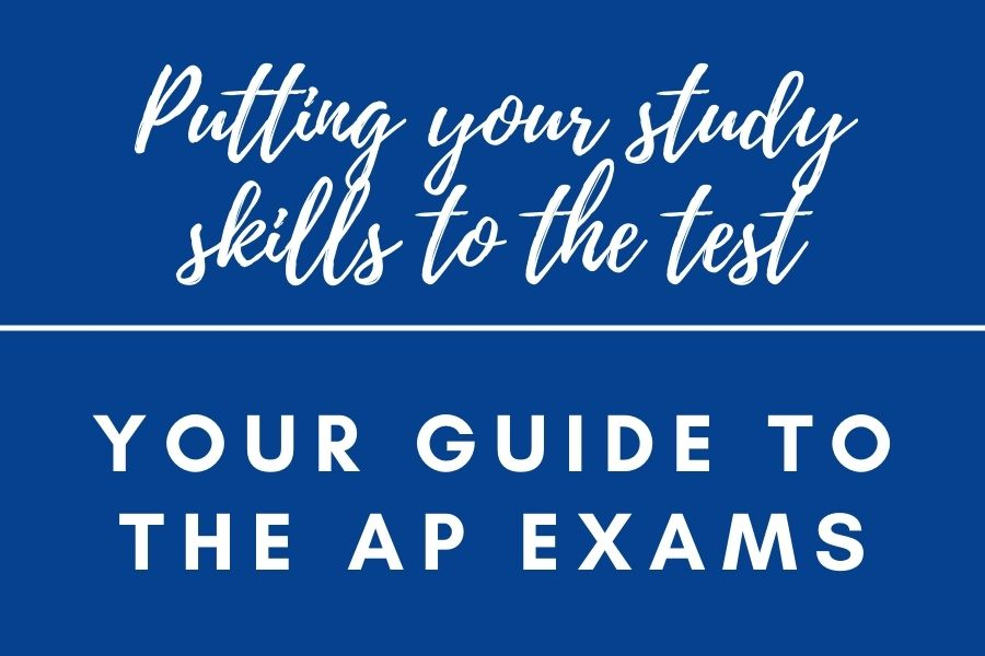 A photo illustration representing your steps to preparing for the AP Exams.