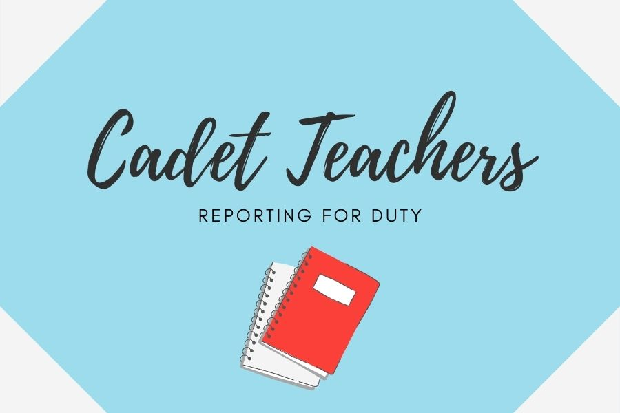 The stories of student cadet teachers assisting in classrooms.