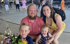 """Celebrating his one year sobriety mark, Trevor Shukers and his fiancée Courtney Jaboor smile with their two children: Hailee [6 years] and Sutton [20 months]. Hailee was diagnosed with autism in the middle of last year. """"My three girls have all helped me find a purpose for life,"""" Shukers said. """"I believe Hailee is part of Gods reason for helping me and giving me another chance, she needs me. Little does she know I need her more than she needs me. The girls have given me a life better than I could have ever imagined."""""""