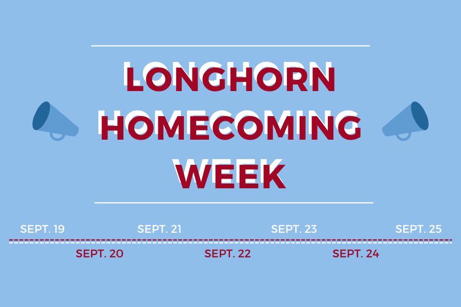 As Homecoming draws near, a timeline of the week gets created.