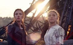 Black Widow/Natasha Romanoff (Scarlett Johansson) and Yelena (Florence Pugh) in Marvel Studios' BLACK WIDOW, in theaters and on Disney+ with Premier Access. Photo by Marvel Studios. Photo used under Creative Commons Licenses.
