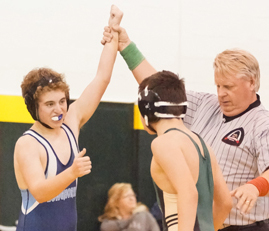 Wrestling team doubles in size, looking to increase fan base