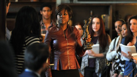 Viola Davis leads the cast in How To Get Away with Murder on ABC