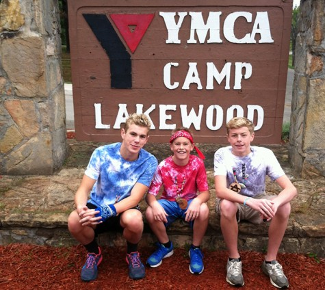 Students spend time with siblings at sixth grade camp