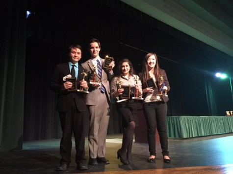 Speech and Debate Team produces National Qualifiers after Districts