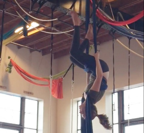 Carolyn Richards discovers aerial arts