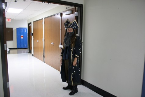 Sophomore explores the art of costuming