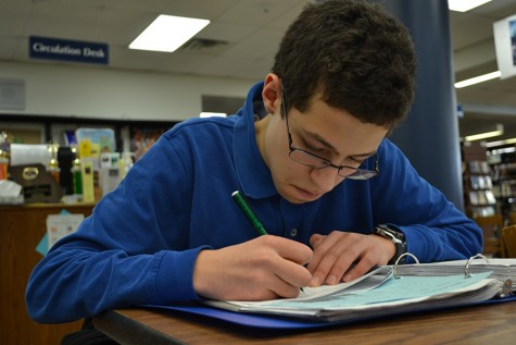 Sophomore Mohammad Hadji follows a sine and finds his passion