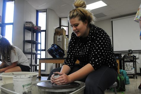 Gallery: Students create art at Clay Club