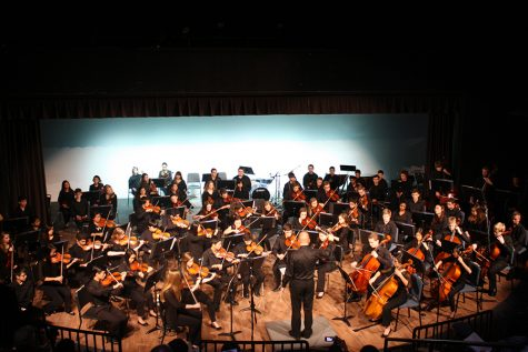 Music department prepares for spring concerts