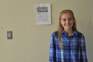 Sophomore Hannah Rushing.