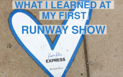 What I learned at my first runway show