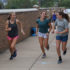 Freshman Leah Selm is welcomed on the varsity cross country team