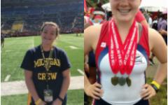 On the boat to success: senior Katy Ward to row at the University of Michigan next fall