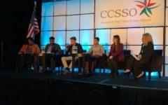 Junior Ashley Spillman represents West at Gateway2Change panel