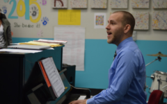 Music teacher Brian Parrish inspires student musicians