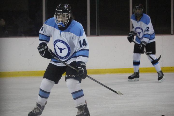 Freshmen Ty Waddell and Danny Talbott score a spot on varsity hockey