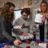 Marketing students DECA the halls with holiday gift wrapping event