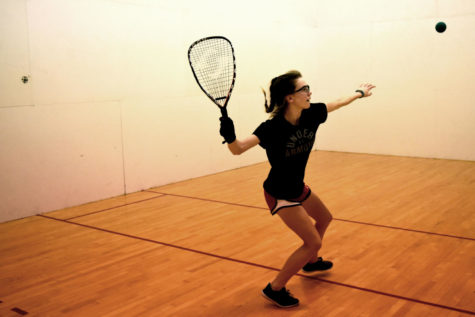 Racquetball team heads to Arby's tournament