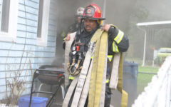 Derrick Richardson gives back to the community as Fire Captain