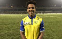 Alumnus Leul Mesfin scores big for Italian soccer team