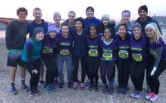 Sixteen students run in the Go! St. Louis half-marathon