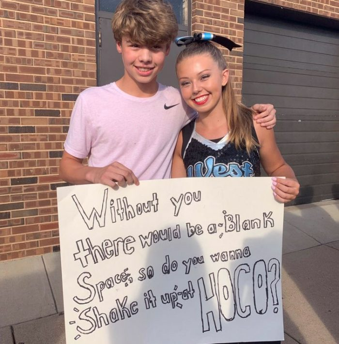 Christmas Homecoming Proposal.Loco For Hoco Class Of 2023 Shares Their Homecoming